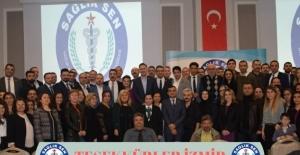 Sağlık-Sen 1 No'lu Şubesi İzmir'de yetkili sendika seçildi