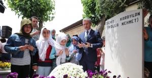 Şehit Karayılan mezarı başında anıldı