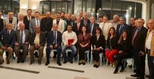 Türkiye Gazeteciler Federasyonu AGC'nin Bölge iftarında buluştu
