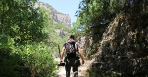 Ballıkayalar Tabiat Parkı doğa tutkunlarının vazgeçilmez adresi oldu