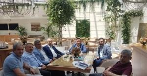 Başkan Beyoğlu hemşeri derneklerinden Yıldırım için destek istedi