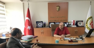 DAP Başkanı Demir'den DAGC'ye ziyaret