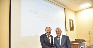 """""""ETÜ-Atatürk Üniversitesi Ar-Ge İşbirliği Hazırlık Çalışması"""" toplantısı yapıldı"""