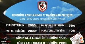 Gazişehir Gaziantep'te kombine satışları başladı