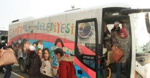 Kartal Belediyesi'nden okullara araç desteği