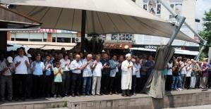 Kdz. Ereğli'de Mursi için gıyabi cenaze namazı kılındı