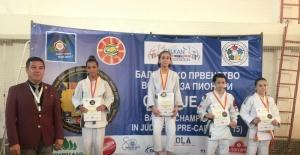 Kocaelisporlu judocular Avrupa'dan 4 madalya ile döndü
