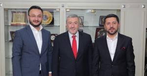 Rasim Arı, İstanbul Emniyet Müdürü Mustafa Çalışkan'ı ziyaret etti
