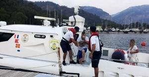 Sahil Güvenlikten denizde tıbbi tahliye