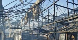 Sera alev alev yandı, zarar 4 milyon TL