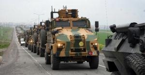 Sınıra askeri araç sevkiyatı gerçekleşiyor