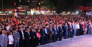 Kütahya'da 15 Temmuz Demokrasi ve Milli Birlik Günü etkinliği