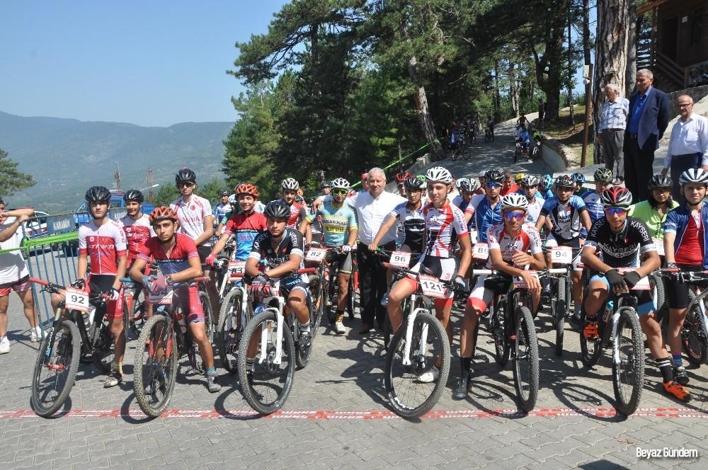 10. Ulusal Yenice Kupası Dağ Bisiklet yarışları yapıldı