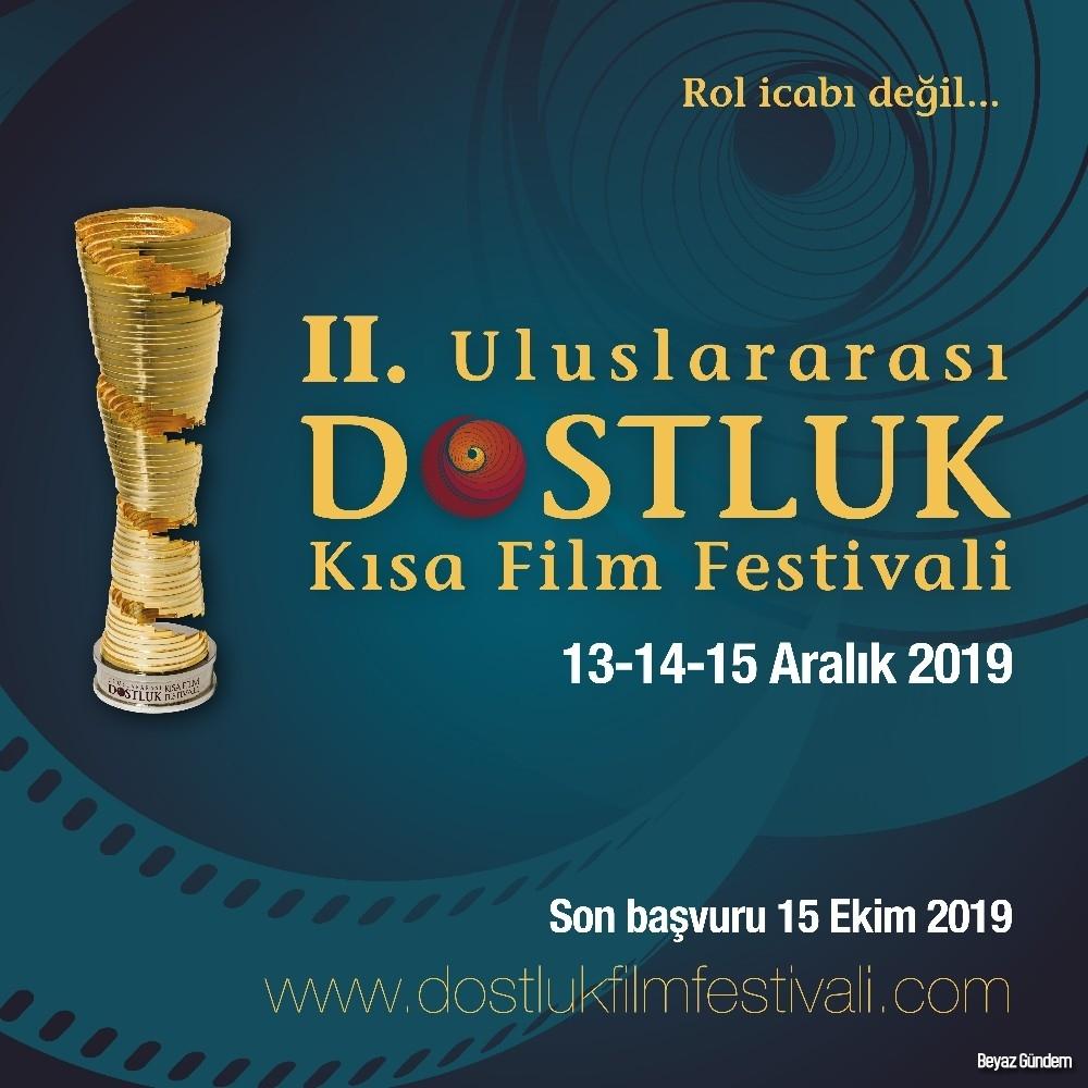 2. Uluslararası Dostluk Kısa Film Festivali başvuruları başladı