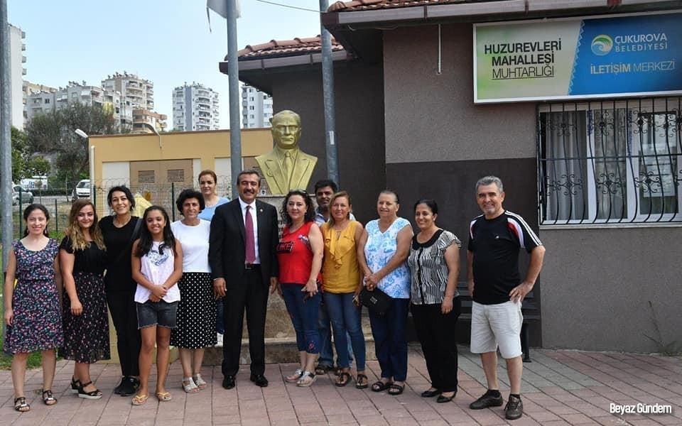 Başkan Soner Çetin, vatandaşlarla buluştu
