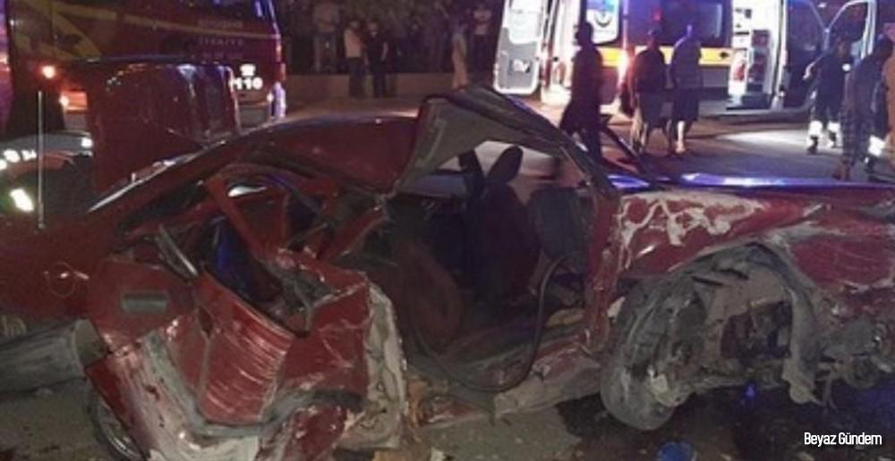 Başkentte trafik kazası: 2 ölü...