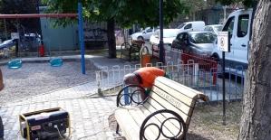 Çankaya parkları yenileniyor