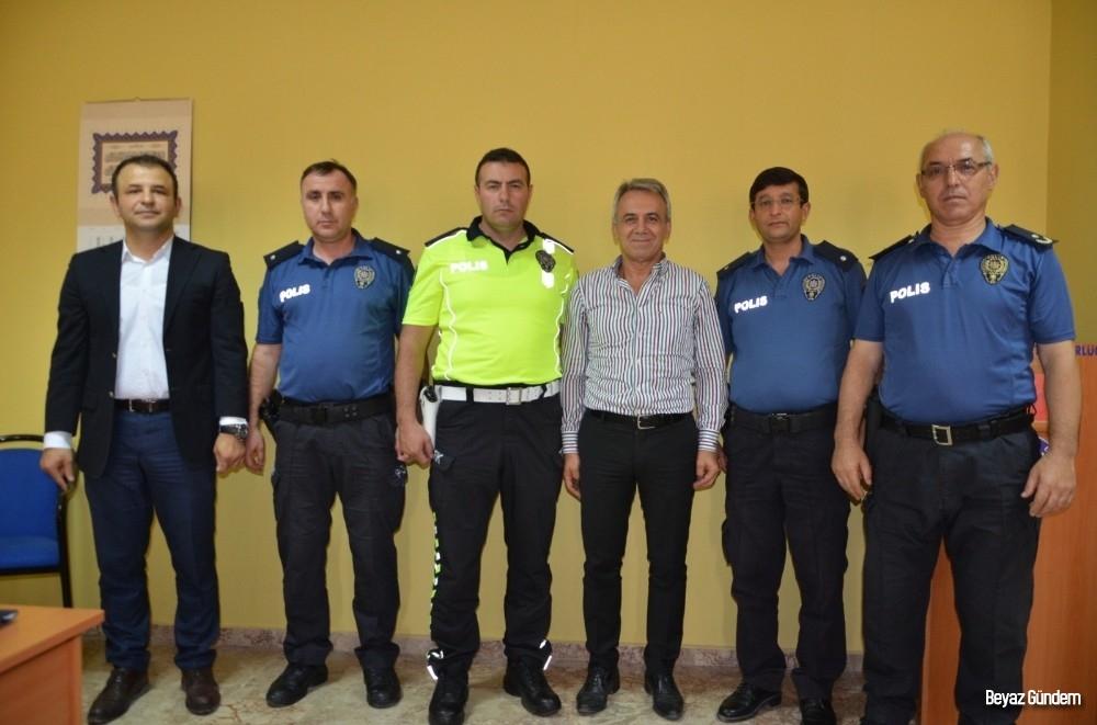 Ereğli'de başpolisler komiser yardımcısı oldu