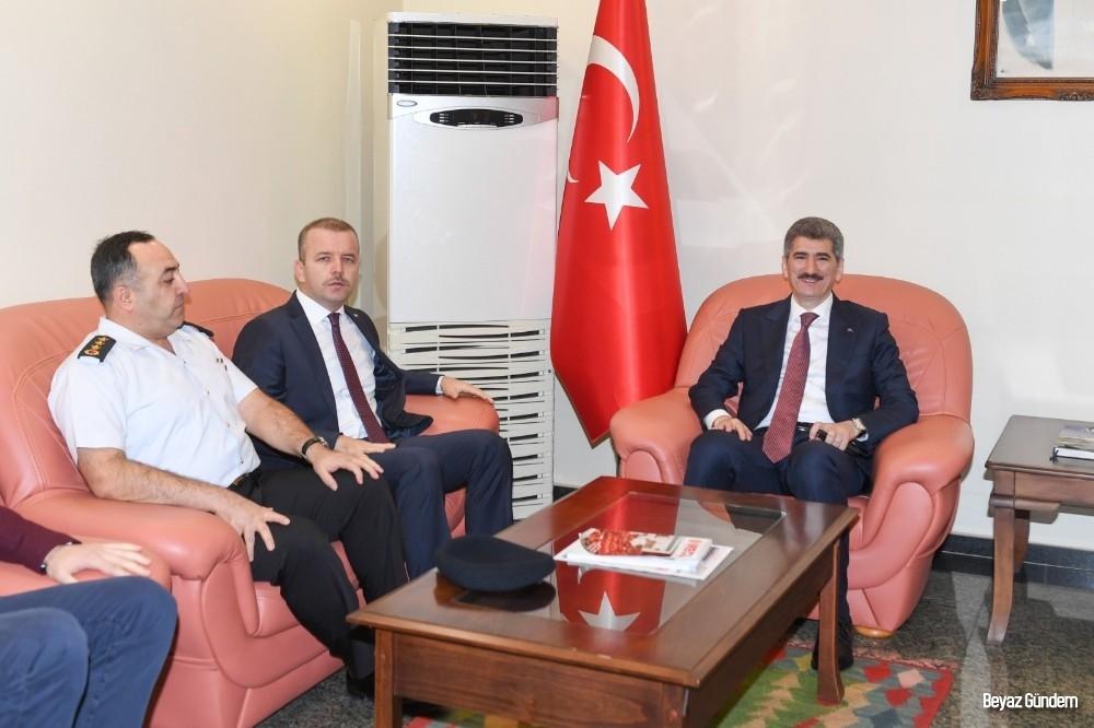İçişleri Bakan Yardımcısı İnce Adana'ya geldi