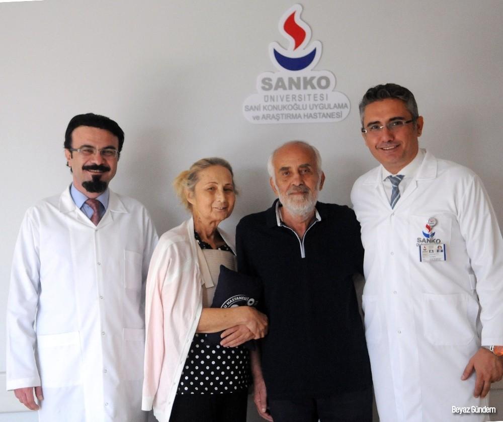 Kalp rahatsızlığı yaşayan çift, şifayı SANKO'da buldu