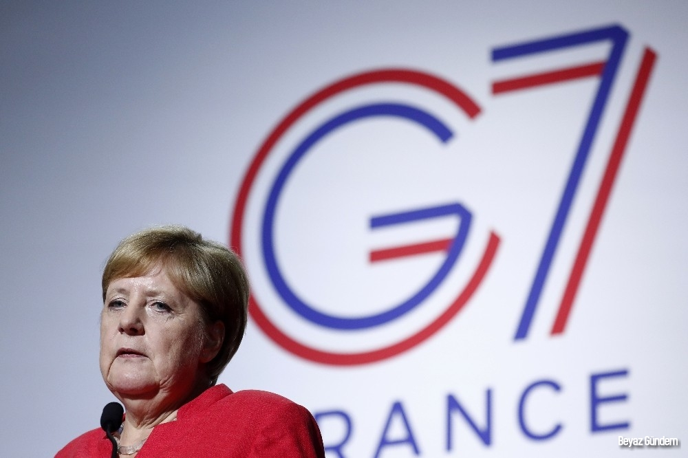 """Merkel: """"Amazonlara yardım edeceğiz"""""""