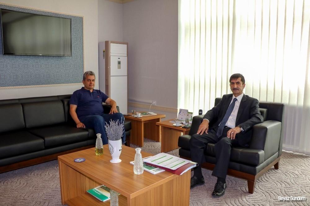 Orman Genel Müdürlüğü Ağaçlandırma Dairesi Başkanı Yüzer Kayseri'de