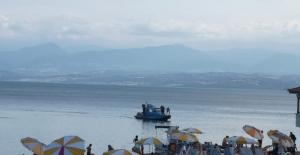 Sinop'ta denizde kopmuş bacak gördü iddiası