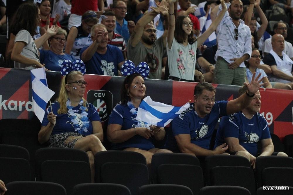 Sırbistan, Finlandiya'ya şans tanımadı
