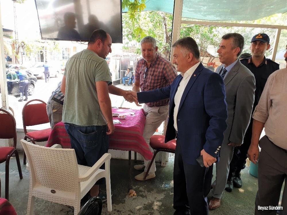 Vali Yazıcı'dan Avcılar Mahallesine ziyaret
