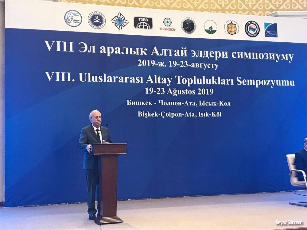 VIII. Altay Toplulukları Sempozyumu başladı