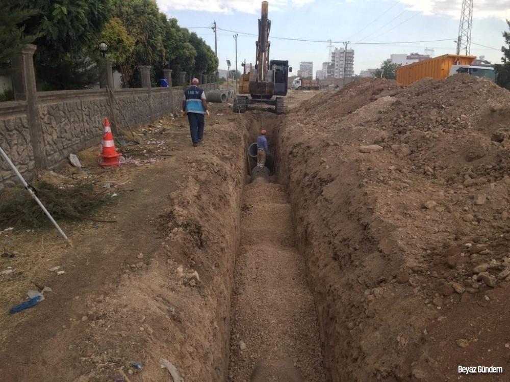 Yeni Mahallede altyapı hattı yenileniyor