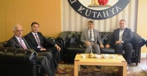 Başsavcısı Akbey'den Rektör Uysal'a ziyaret
