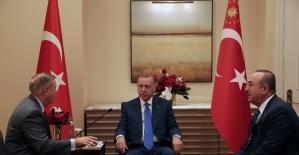 Erdoğan, ABD'li senatör Graham ile görüştü