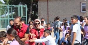 Gençlik Karavanı Kıranardı Ortaokulu'nda
