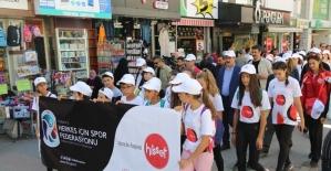 Kütahya'da 'Beraber yürüyelim' etkinliği