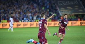 Süper Lig: Trabzonspor: 1 - Gençlerbirliği: 0 (Maç devam ediyor)