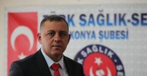 Türk Sağlık Sen Konya Şube Başkanı...