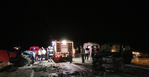 Yozgat'ta trafik kazası: 1 uzman onbaşı hayatını kaybetti, 2 kişi yaralandı