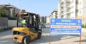 Büyükşehir Söke Hilmi Meydan Caddesi'ni yeniliyor