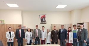 Daire Başkanı Özcan gençlik merkezini inceledi
