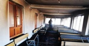 Erciş'te Kur'an kursunda yangın