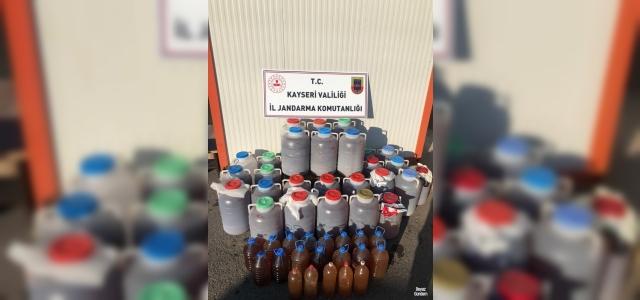 Jandarmadan kaçak şarap operasyonu:...