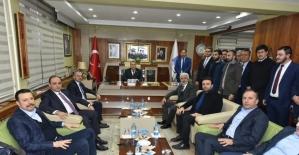 Kandemir, Başkan Çerçi ve ekibini kutladı
