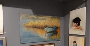 Kuşadası Sanat Galerisi'nde karma resim sergisi