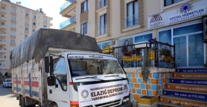 Mardin Valiliği ile Büyükşehir Belediyesi'nden Elazığ'a yardım seferberliği