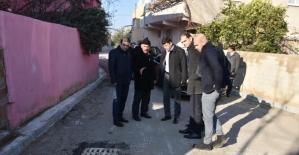Nazilli'de yol hamlesi devam ediyor