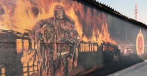 Trakya Üniversitesi Güzel Sanatlar Fakültesi öğrencileri Edirne'yi sanatla süslemeye devam ediyor