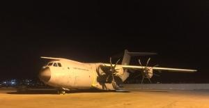 Yaralılar için Somali'ye giden uçak Ankara'dan havalandı