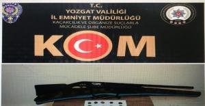 Yozgat'ta 16 parça tarihi eser ele geçirildi