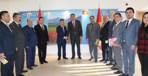 """Başkan Cevahiroğlu: """"Kırgızistan'a Türk şirketleri olarak önem veriyoruz"""""""